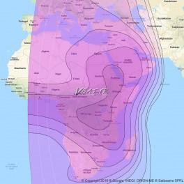 Satellite ABS2 Connection Internet VSAT Bande C