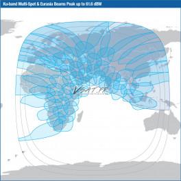 Satellite Intelsat 33e Connection Internet VSAT Bande Ku HTS