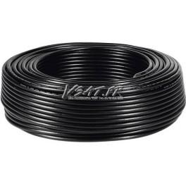 2 x 25m de Cable RG6 - 17PATC Noir 75 Ohms
