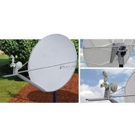 Antenne 1.2m Bande Ku polarisation Lineaire croisee