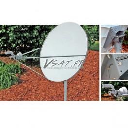 Antenne VSAT 1.2m bande Ku Skyware Global