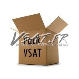 Pack VSAT bande Ku 1.2m Ku-band